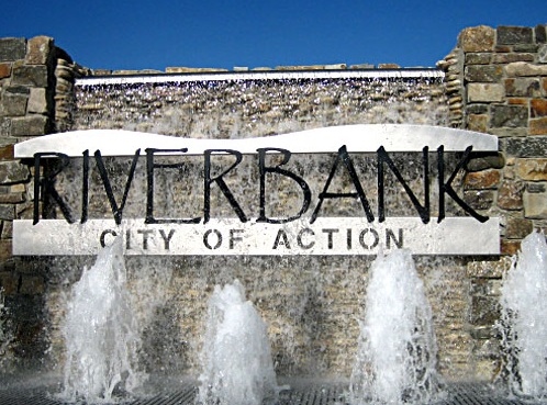 City of Riverbank Fountain
