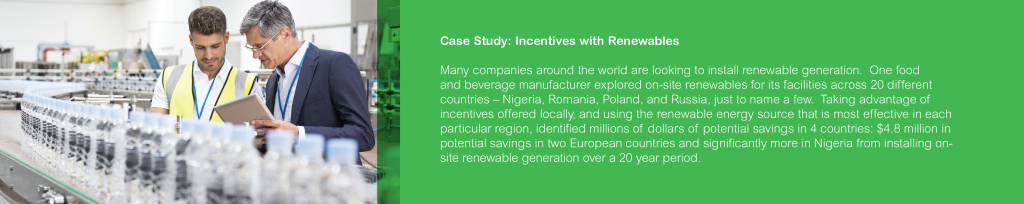 Renewable Costs Case Study