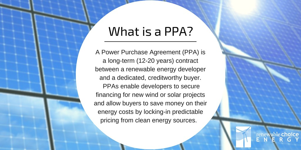 Renewable Choices: Ppas And Eacs - Schneider Electric : Schneider