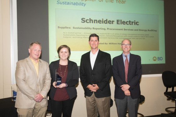BD Supplier of the Year - Sustainability Award