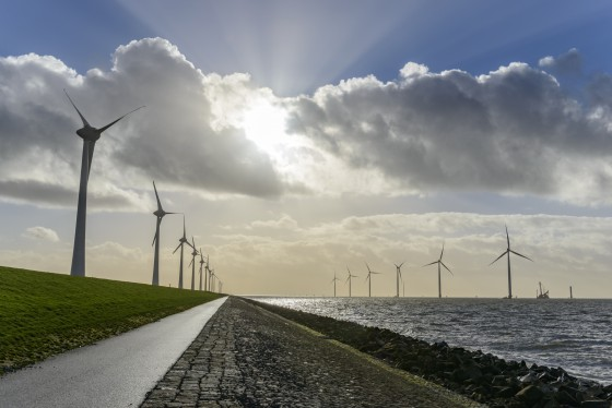 wind turbine farm, PPAs help to finance the construction of new projects