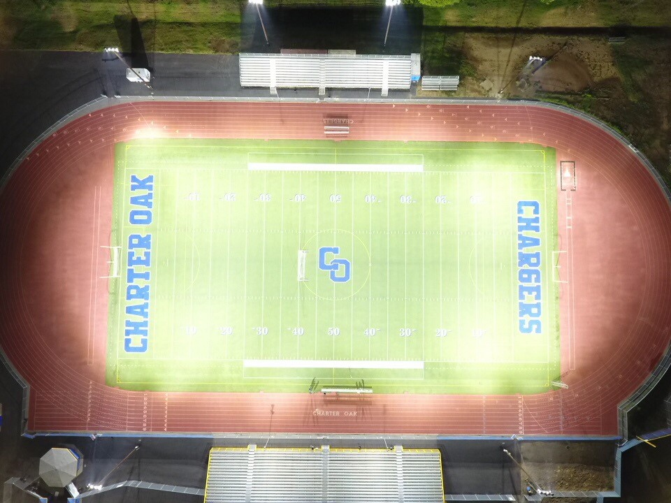 COHS Stadium After Drone Shot