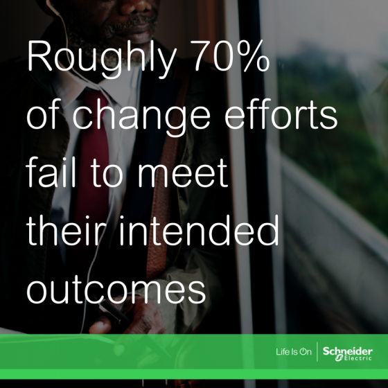 change management is key for achieving intended business outcomes